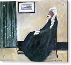Whistlin Mother Acrylic Print
