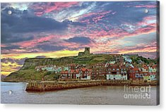 Whitby Abbey Uk Acrylic Print