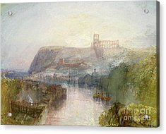 Whitby Acrylic Print by Joseph Mallord William Turner