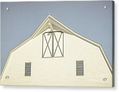 White Barn South Woodstock Vermont Acrylic Print