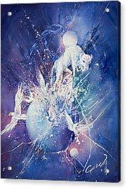 White Buffalo Spirits Acrylic Print