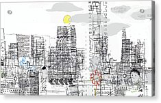 White City Acrylic Print by Andy  Mercer
