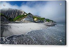White Cliffs Of Iturup Island Acrylic Print
