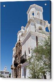 White Dove Of The Desert - Tucson Arizona Acrylic Print