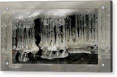 White Grotto. Acrylic Print by Doug Bratten