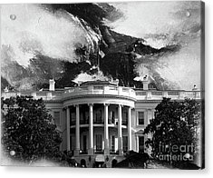 White House 002 Acrylic Print by Gull G