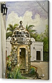 White House-garita Acrylic Print by George Bloise