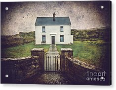 White House Of Aran Island I Acrylic Print