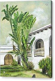 White House San Juan Acrylic Print by George Bloise