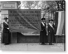 White House: Suffragettes Acrylic Print by Granger