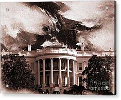 White House Washington Dc Acrylic Print by Gull G