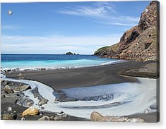 White Island In New Zealand Acrylic Print by Jessica Rose