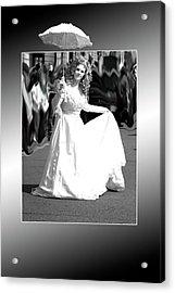 White Lady Acrylic Print