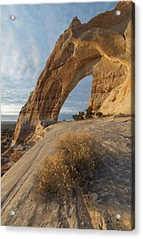 Acrylic Print featuring the photograph White Mesa Arch by Dustin LeFevre