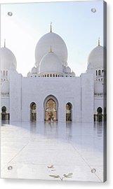 White Mosque Acrylic Print