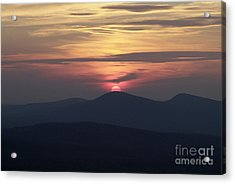 White Mountains Nh - Sunset Acrylic Print by Erin Paul Donovan