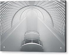 White Acrylic Print by Nico T
