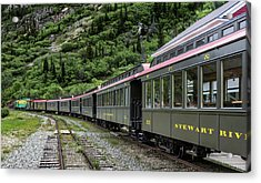 White Pass And Yukon Railway Acrylic Print