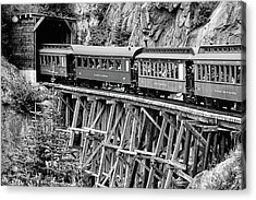 White Pass Railway Acrylic Print