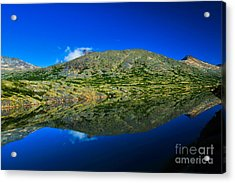 White Pass Reflections Acrylic Print by Scott and Amanda Anderson