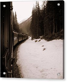 White Pass Railway Acrylic Print