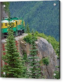 White Pass Train Alaska - Canada Acrylic Print