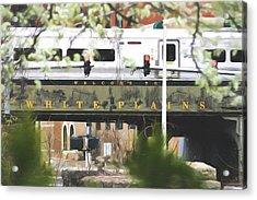 White Plains Train Station Acrylic Print