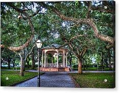 White Point Gardens Acrylic Print