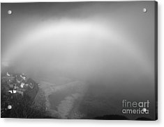 White Rainbow Acrylic Print by Jason Christopher