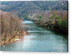 White River Acrylic Print by Kathleen Struckle