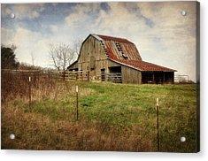 White River Trace Barn 2 Acrylic Print