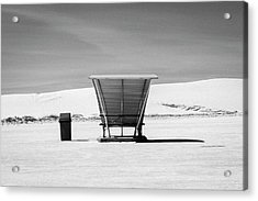 Acrylic Print featuring the photograph White Sands National Monument #10 by Lou Novick