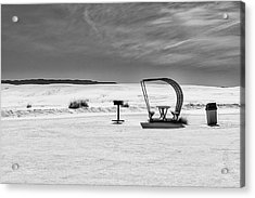 Acrylic Print featuring the photograph White Sands National Monument #9 by Lou Novick