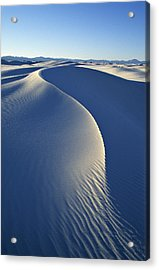 White Sands National Monument Acrylic Print by Dawn Kish