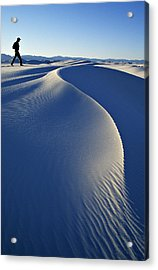 White Sands National Park, New Mexico Acrylic Print by Dawn Kish