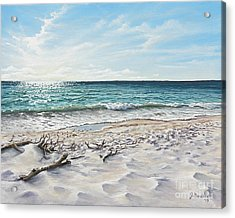 White Sands Of Tiger Tail Acrylic Print