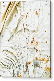 White Sheet Acrylic Print