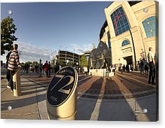 White Sox Fans Before A Game Acrylic Print by Sven Brogren