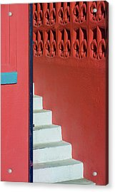 White Staircase Venice Beach California Acrylic Print