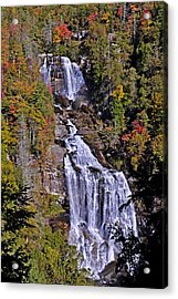 Acrylic Print featuring the photograph White Water Falls by John Gilbert