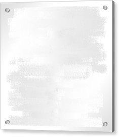White.42 Acrylic Print by Gareth Lewis