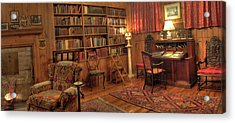 Whitehern Library Acrylic Print by Larry Simanzik