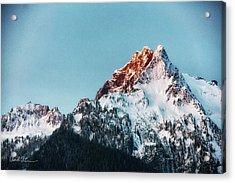 Whitehorse Sunrise Acrylic Print