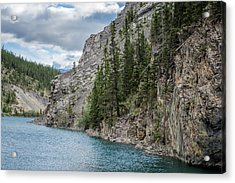 Whitemans Pond Canmore Alberta Acrylic Print by Joan Carroll