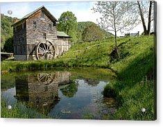 White's Mill Acrylic Print by Alan Lenk