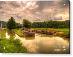 Whitewater Canal Lock 24 Acrylic Print by Paul Lindner