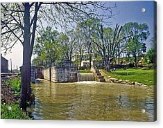Whitewater Canal Metamora Indiana Acrylic Print