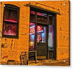 Whitey's Bar And Grill Acrylic Print