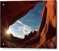 Acrylic Print featuring the photograph Whitney Pocket Arch by Leland D Howard