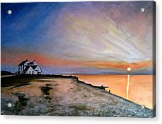 Whitstable Old Neptune Acrylic Print by Paul Mitchell